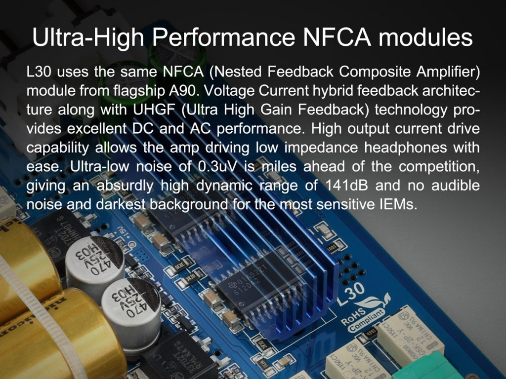 TOPPING L30 Amp NFCA Modules